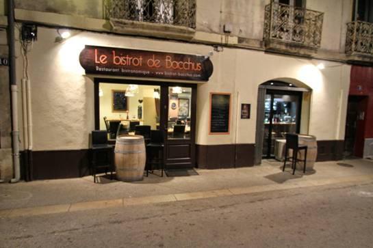 Restaurant le bistrot de Bacchus à Montpellier