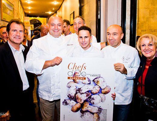 Soirée de lancement du magazine Chefs d'Oc #7