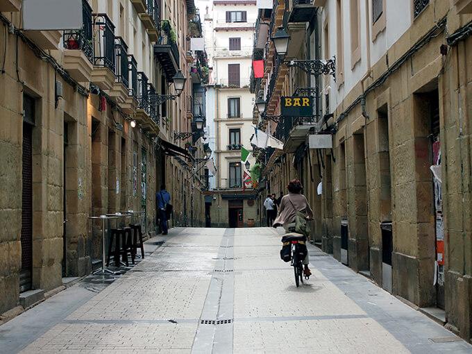 Flâner à San Sebastian