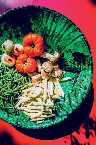 légumes saladier