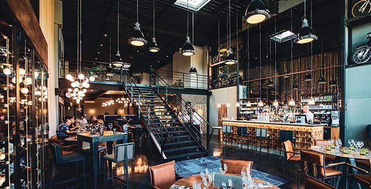 salle restaurant le R Moto Park de Montpellier bistronomie