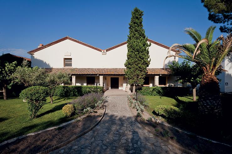 Entrée visiteurs-Domaine-Jarras